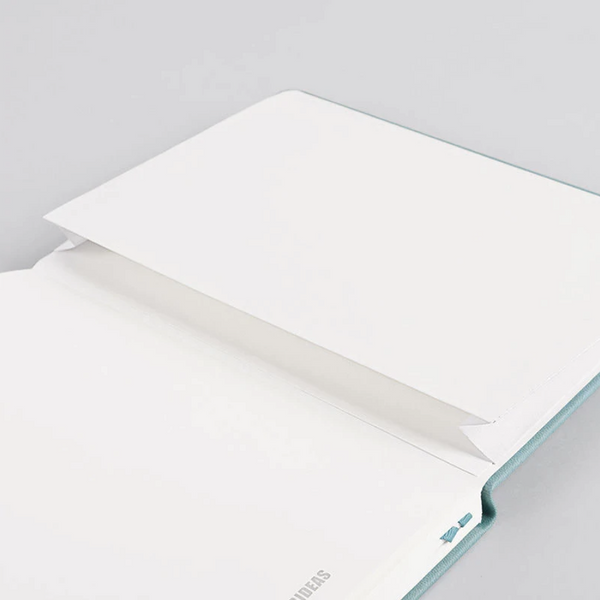 Paper Ideas Hardcover Notebook - Cool Colors - A5 Dotted