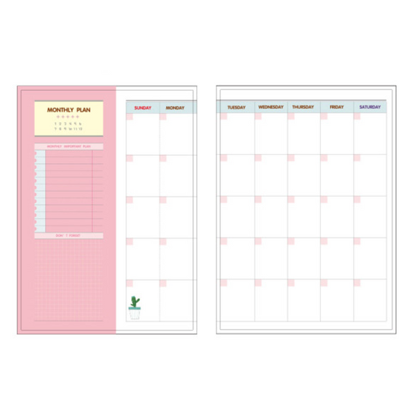 365 Days Personal Planner - Bright Colors 6