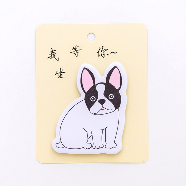 French Bulldog Puppy Sticky Notes 14