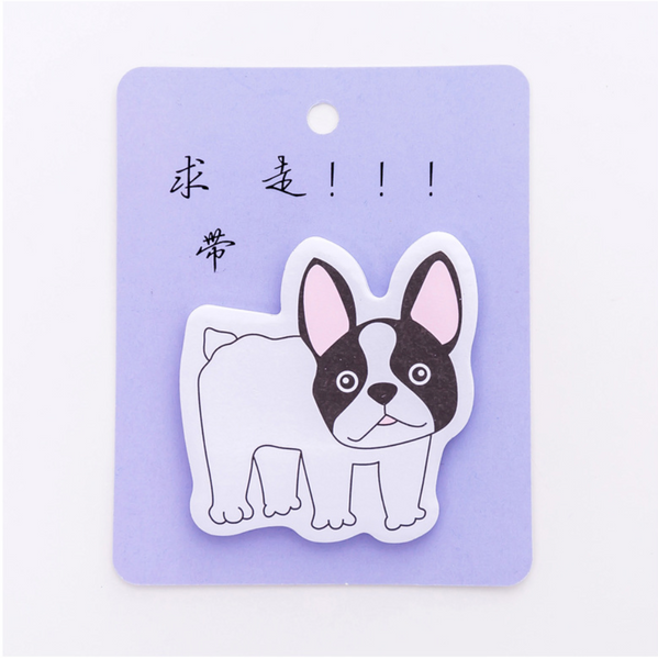 French Bulldog Puppy Sticky Notes 17