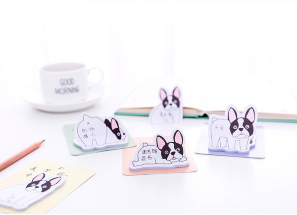 French Bulldog Puppy Sticky Notes 6