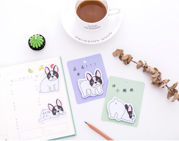 French Bulldog Puppy Sticky Notes 10