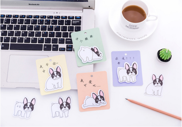 French Bulldog Puppy Sticky Notes 12