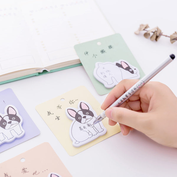 French Bulldog Puppy Sticky Notes 3