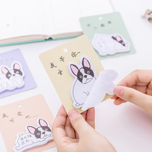 French Bulldog Puppy Sticky Notes 5