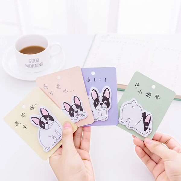 French Bulldog Puppy Sticky Notes 4