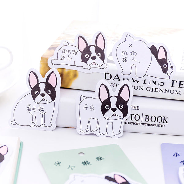 French Bulldog Puppy Sticky Notes 8