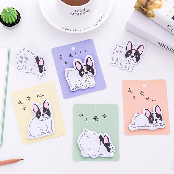 French Bulldog Puppy Sticky Notes 2