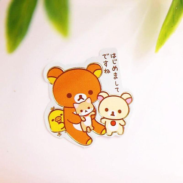 Rilakkuma Stickers San-x Stationery 6