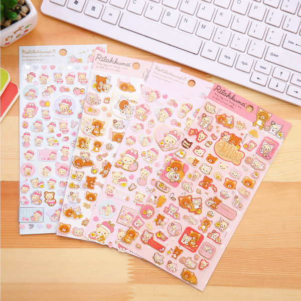 Rilakkuma Stickers San-x Stationery 2