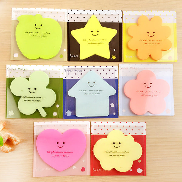 Cute Shape Adhesive Note Pad