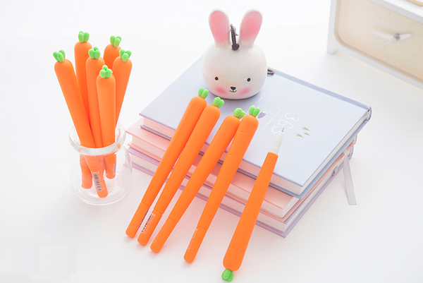 Cute Carrot Gel Ink Pen 8