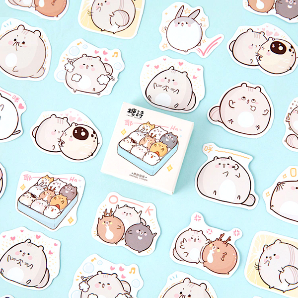 Cute Mouse Paper Stickers