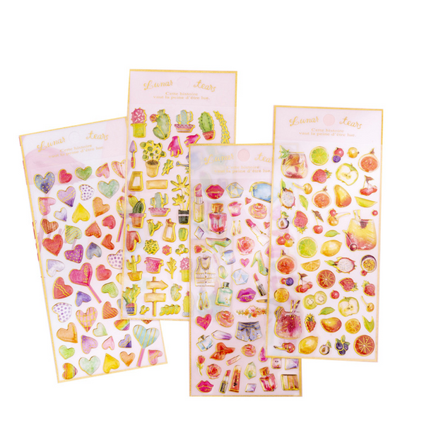 Puffy Heart Stickers