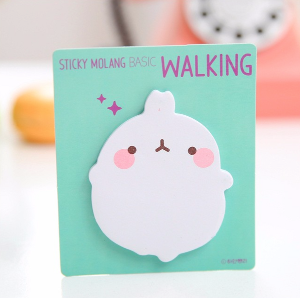 Molang Rabbit Post-it Memo Pad 7