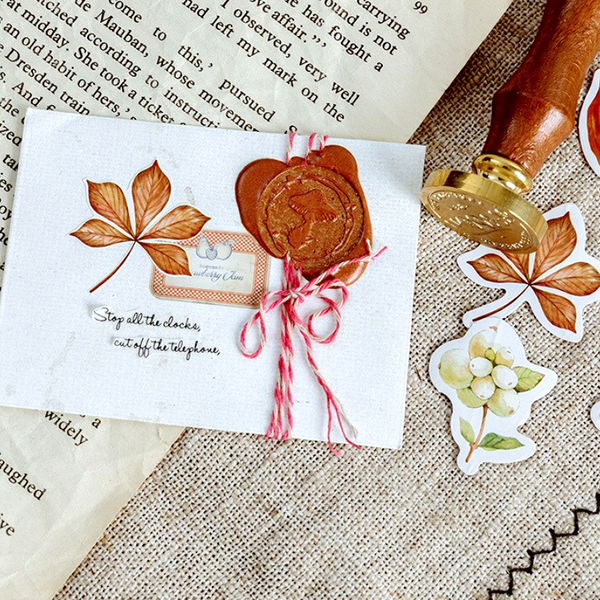 Autumn Leaves Paper Stickers