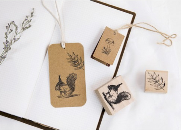Forest Life Wooden Stamp 13