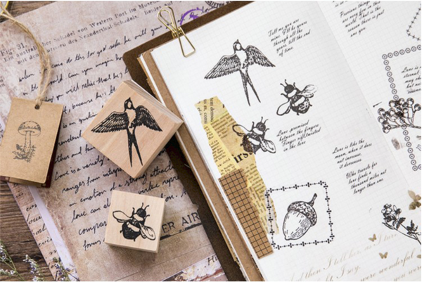 Forest Life Wooden Stamp 5