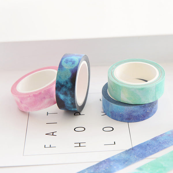 Galaxy Masking Tape 7-pack 2