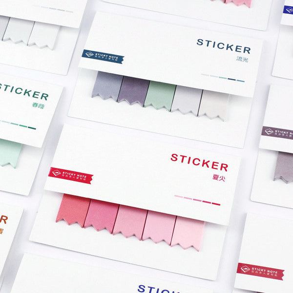 Gradient Color Index Sticky Notes 8