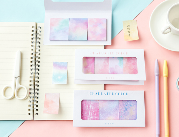 Gradient Color Sticky Notes