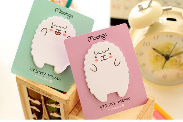 Sheep & Panda Sticky Memo Pad