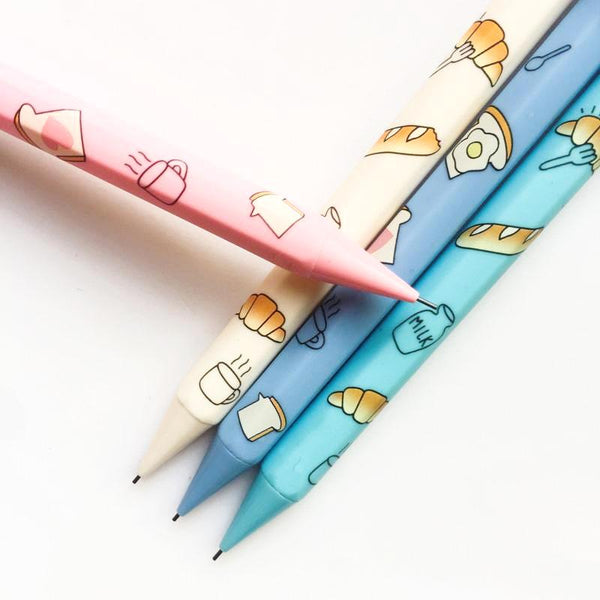 Happy Breakfast Mechanical Pencil Set 2