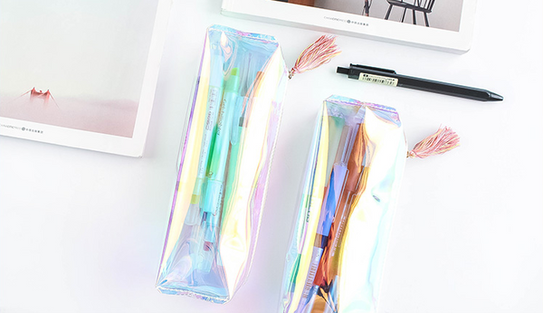 Shine Like Rainbows Holographic Pencil Case 11