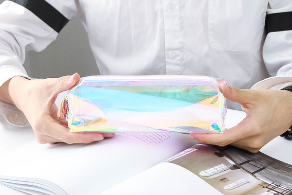 Shine Like Rainbows Holographic Pencil Case 7