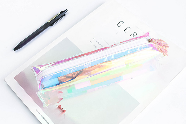 Shine Like Rainbows Holographic Pencil Case 8