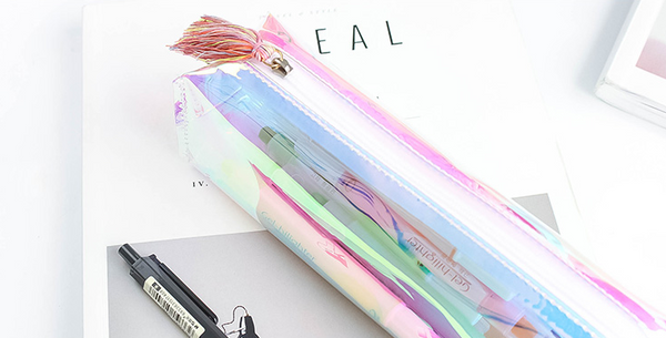 Shine Like Rainbows Holographic Pencil Case 14