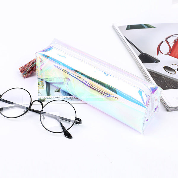 Shine Like Rainbows Holographic Pencil Case 3