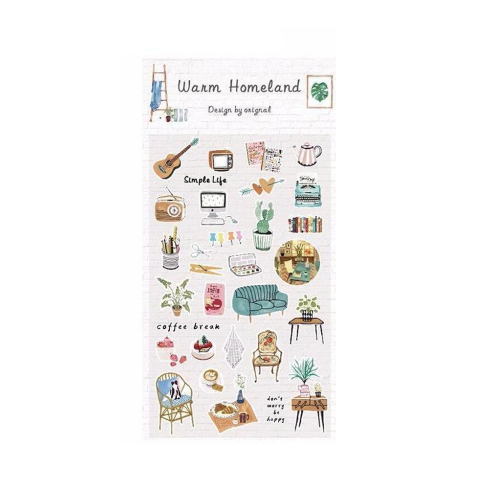 Home Sweet Home Paper Stickers 12