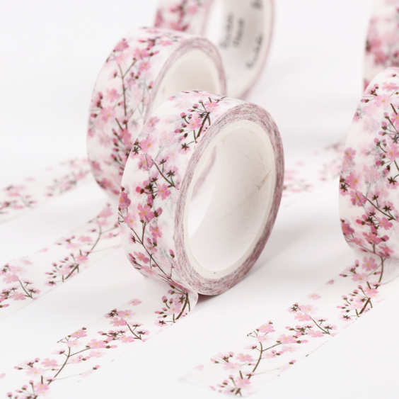 Japanese Cherry Blossom Washi Tape 4