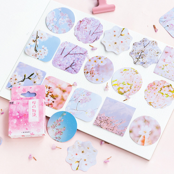 Sakura Decorative Paper Stickers