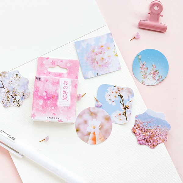 Sakura Decorative Paper Stickers 2