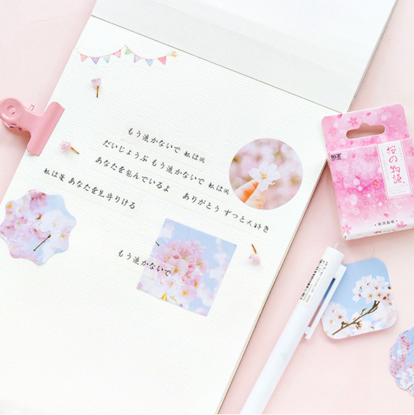 Sakura Decorative Paper Stickers 3