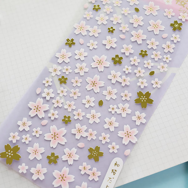 Japanese Sakura Cherry Blossom Stickers 14