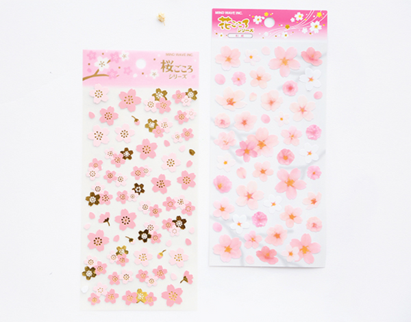 Japanese Sakura Cherry Blossom Stickers 16