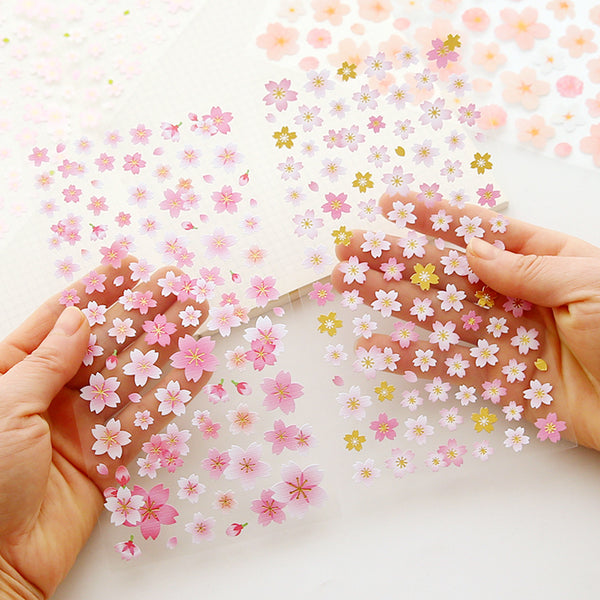Japanese Sakura Cherry Blossom Stickers 9