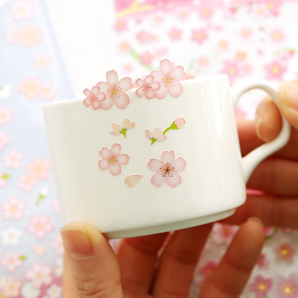 Japanese Sakura Cherry Blossom Stickers 11