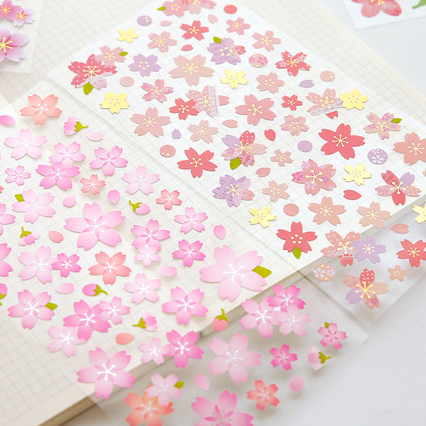 Japanese Sakura Cherry Blossom Stickers 8