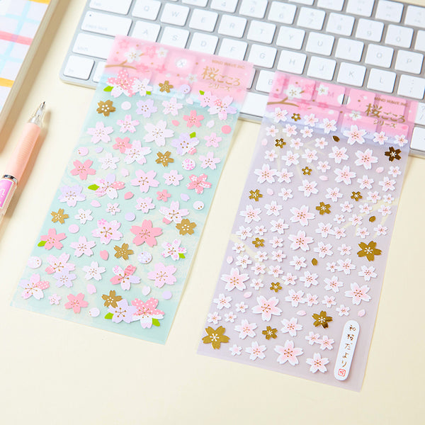 Japanese Sakura Cherry Blossom Stickers 2