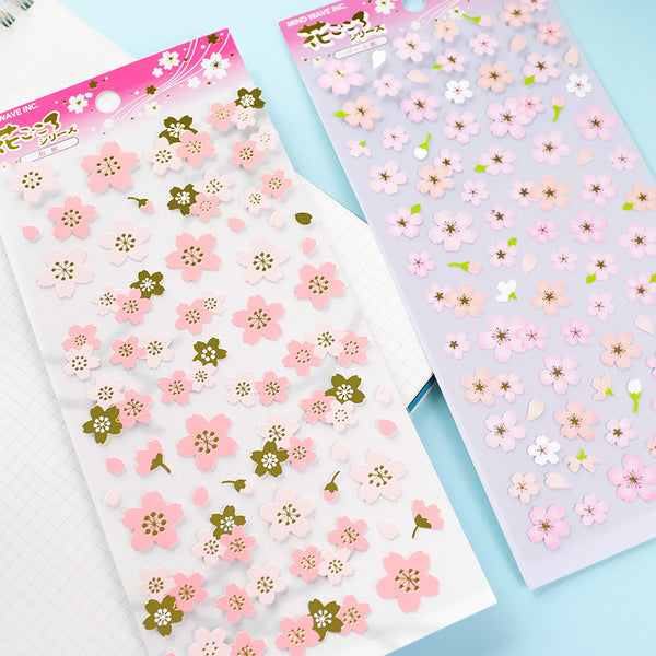 Japanese Sakura Cherry Blossom Stickers 3