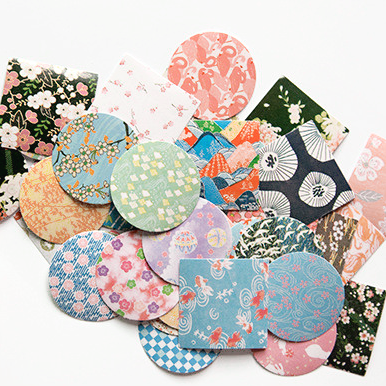 Japanese Decorative Paper Sticker Set: Blossom