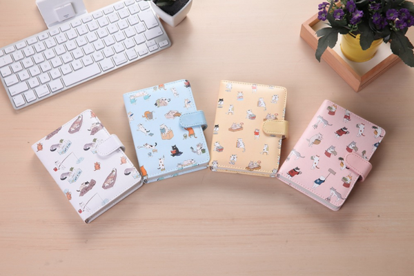 Kawaii Cat Leather Notebook 2