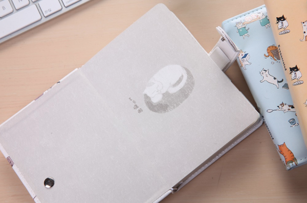 Kawaii Cat Leather Notebook 9