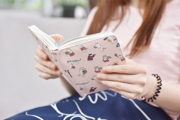 Kawaii Cat Leather Notebook 23