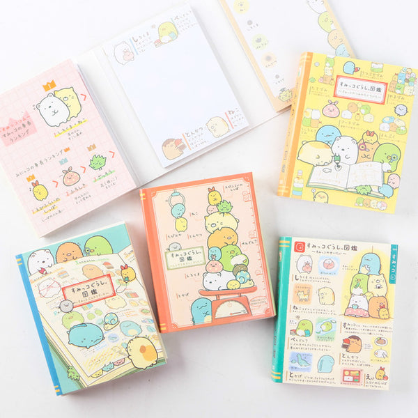 Kawaii Sumikko Gurashi Sticky Memo Set