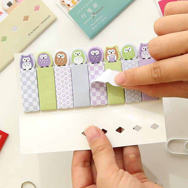 Kawaii Japanese Index Sticky Note Set 3